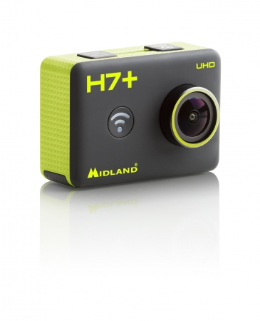 NEW -  Midland H7+  UHD with remote control and built-in WiFi